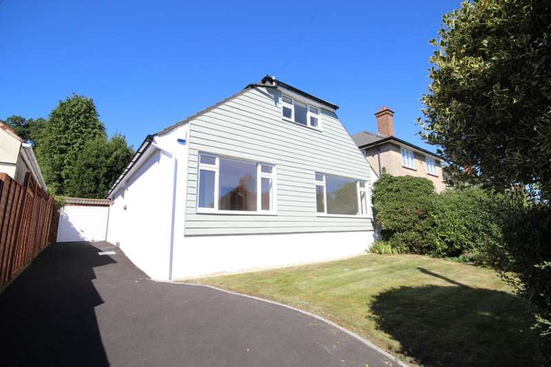 3 Bedrooms Detached Bungalow for sale in Marlborough Road, Lower Parkstone, Poole, Dorset, BH14