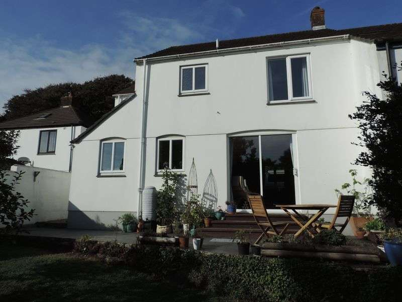 3 Bedrooms Semi Detached House for sale in Perranwell Station, Truro