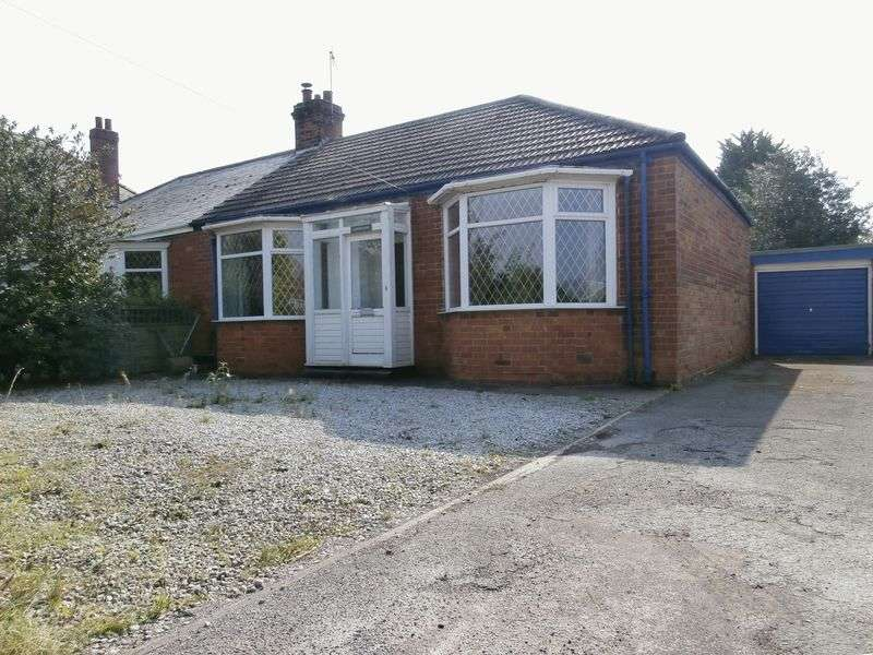2 Bedrooms Semi Detached Bungalow for sale in Ottringham Road, Keyingham,