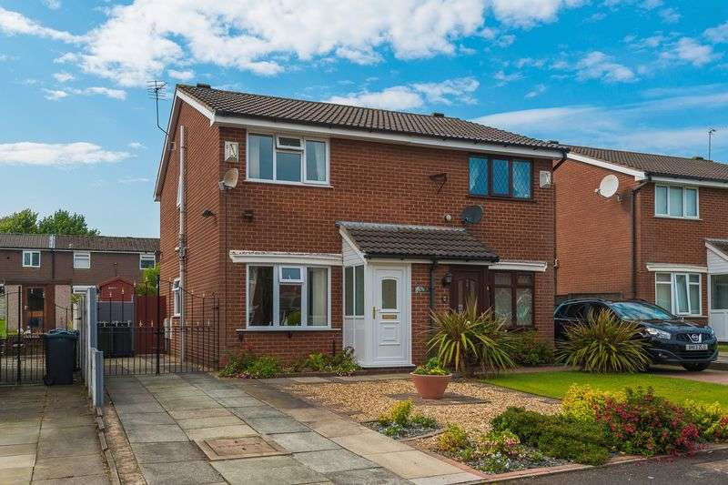 2 Bedrooms Semi Detached House for sale in Tilcroft, Skelmersdale