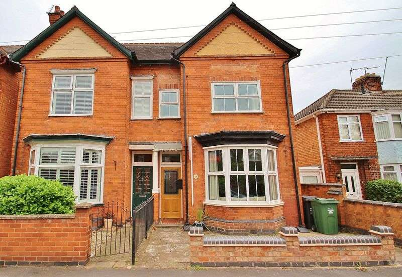 3 Bedrooms Semi Detached House for sale in Broad Street, Syston, Leicestershire