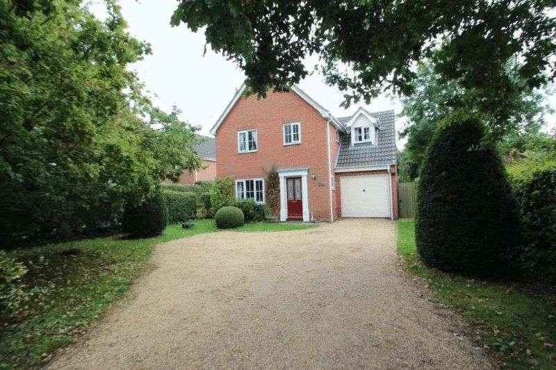 4 Bedrooms Detached House for sale in Norwich Road, Barnham Broom, Norwich