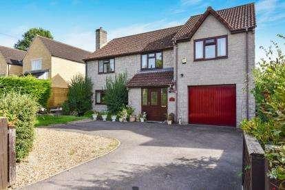 4 Bedrooms Detached House for sale in Barton St. David, Somerton, Somerset