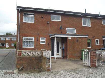 3 Bedrooms End Of Terrace House for sale in Almond Court, Shildon, Durham, DL4