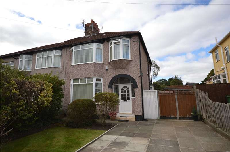 3 Bedrooms Semi Detached House for sale in Monkswell Drive, Wavertree, Liverpool, L15