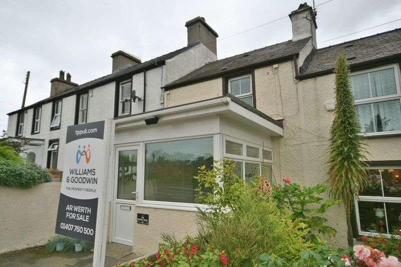 2 Bedrooms Cottage House for sale in Llanfaelog, Ty Croes, Anglesey