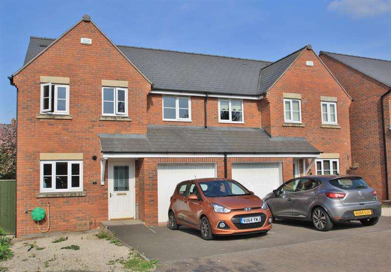 4 Bedrooms Semi Detached House for sale in Abbotts Close, Ross-On-Wye