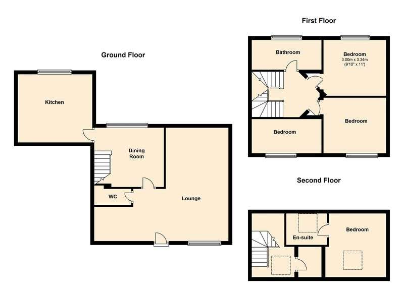 4 Bedrooms Terraced House for sale in The Old School House, Shore, Littleborough.