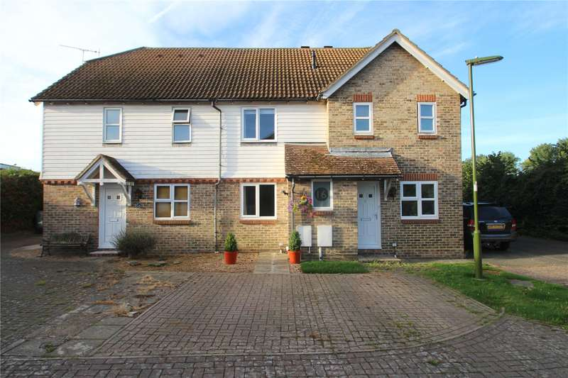 2 Bedrooms Terraced House for sale in Florlandia Close, Sompting, West Sussex, BN15