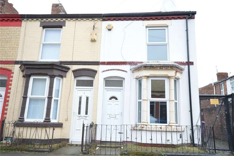 2 Bedrooms End Of Terrace House for sale in Banner Street, Wavertree, Liverpool, L15
