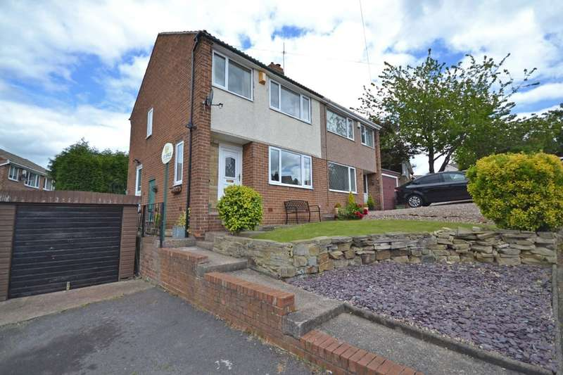 3 Bedrooms Semi Detached House for sale in Ashdene Drive, Crofton, Wakefield