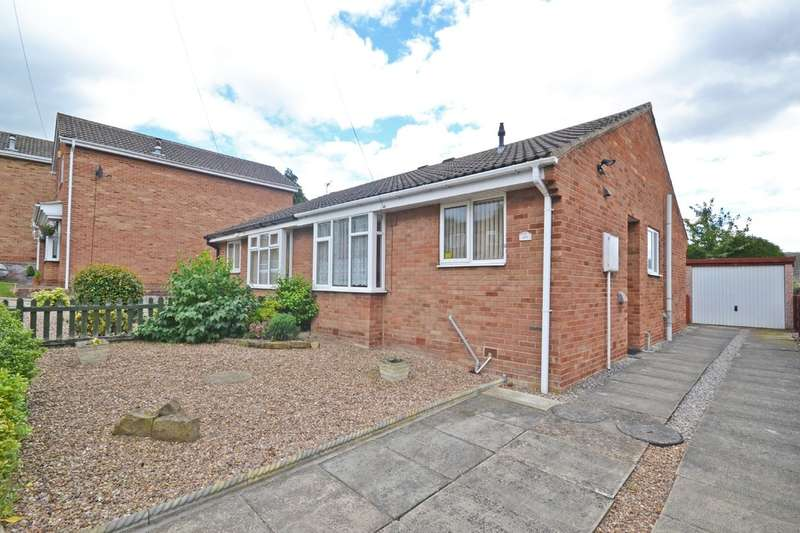 2 Bedrooms Semi Detached Bungalow for sale in Hornbeam Avenue, Wakefield