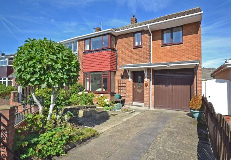 4 Bedrooms Semi Detached House for sale in Thornes Moor Avenue, Wakefield