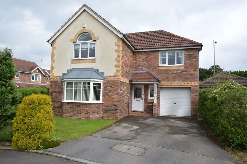 4 Bedrooms Detached House for sale in Turnberry Court, Normanton