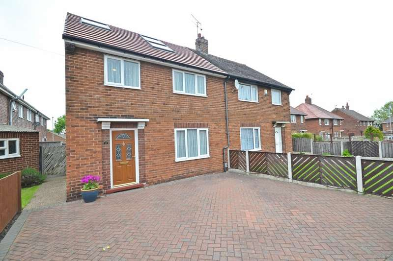 4 Bedrooms Semi Detached House for sale in Woodhouse Crescent, Normanton