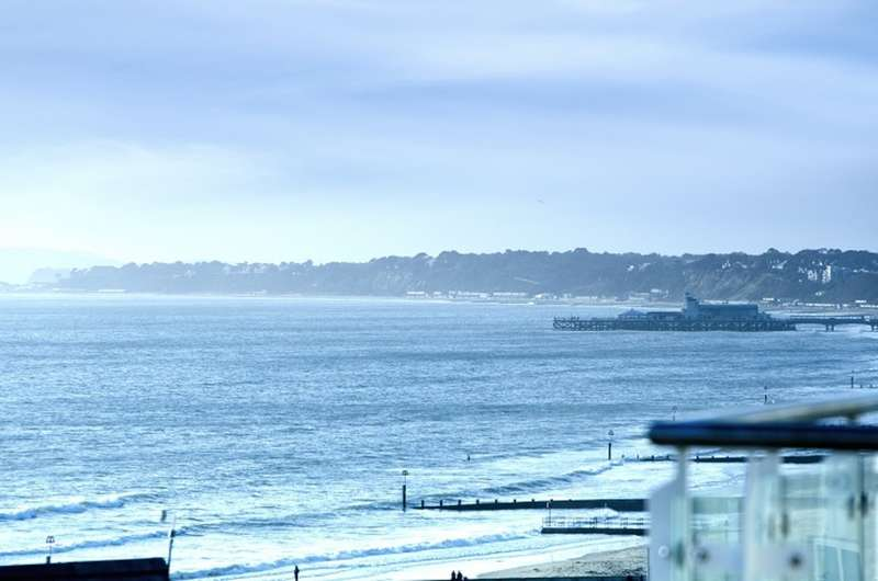 2 Bedrooms Flat for sale in Seafront, Bournemouth, BH5