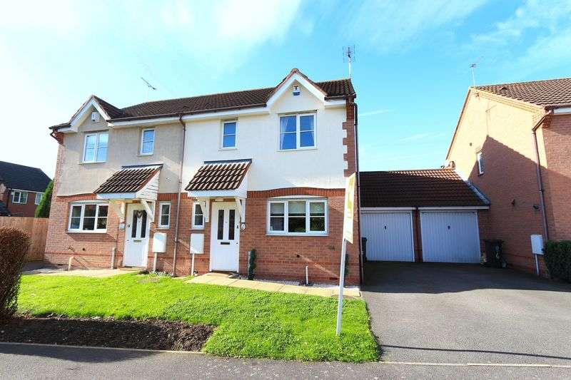 3 Bedrooms Semi Detached House for sale in Stanier Drive, Leicester