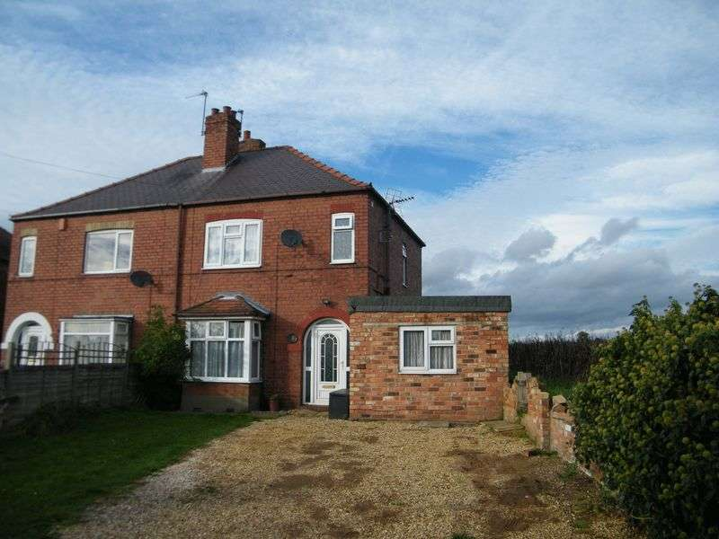 3 Bedrooms Semi Detached House for sale in Kirton Road, Blyton