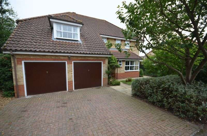 5 Bedrooms Detached House for sale in Dussindale, Norwich