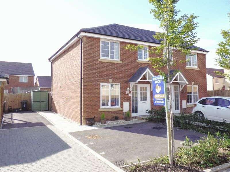 3 Bedrooms Semi Detached House for sale in Matlaske Way Kingsway, Gloucester
