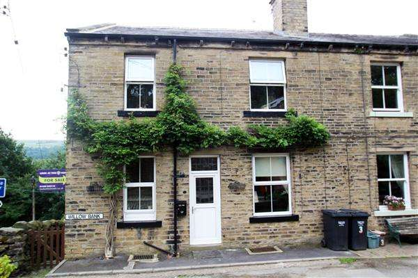 2 Bedrooms Terraced House for sale in Willow Bank, Luddenden, Halifax