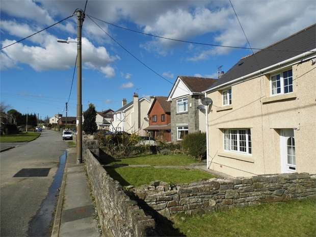 2 Bedrooms Semi Detached House for sale in Fir Tree Cottages, Maudlam, Bridgend, Mid Glamorgan