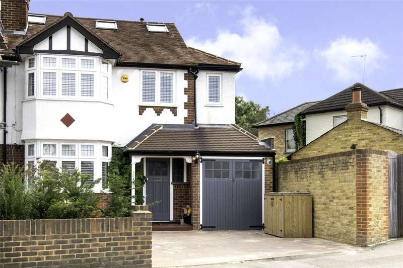 4 Bedrooms Semi Detached House for sale in Bridge Road, East Molesey, Surrey, KT8