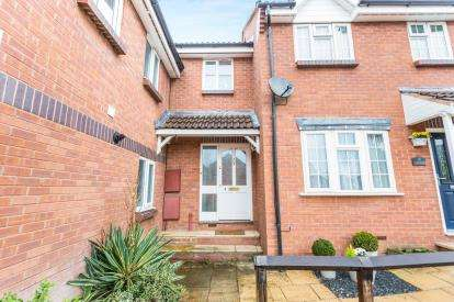 3 Bedrooms Terraced House for sale in Gregorys Court, Merrimans Hill, Worcester, Worcestershire