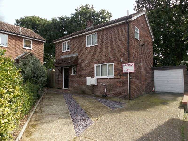 3 Bedrooms Detached House for sale in Lapwing Close, Thurston