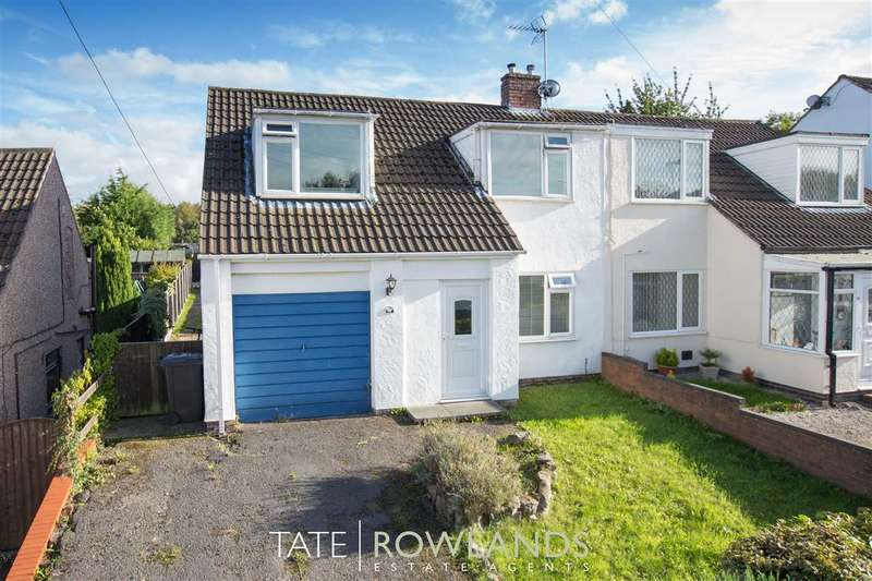 3 Bedrooms Semi Detached House for sale in Uplands Avenue, Connahs Quay