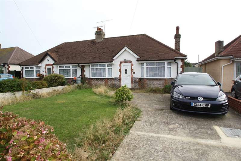 3 Bedrooms Semi Detached Bungalow for sale in Sunningdale Road, Durrington, Worthing, BN13