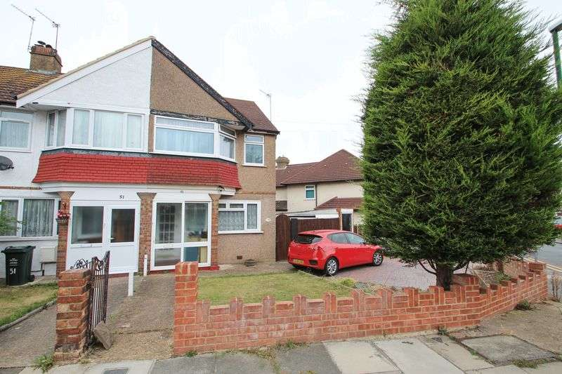3 Bedrooms Semi Detached House for sale in Lawrence Hill Road, Dartford