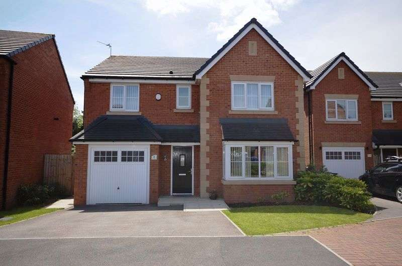 4 Bedrooms Detached House for sale in Hanging Birches, Widnes
