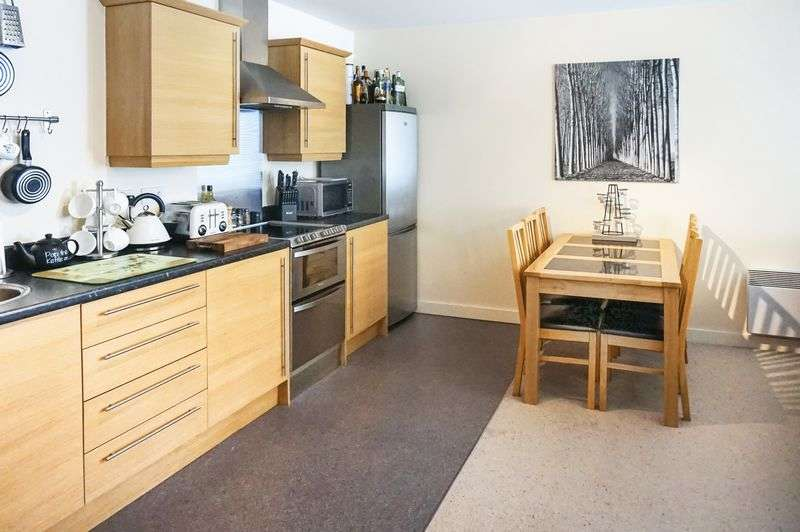 2 Bedrooms Flat for sale in Rope Walk, Congleton