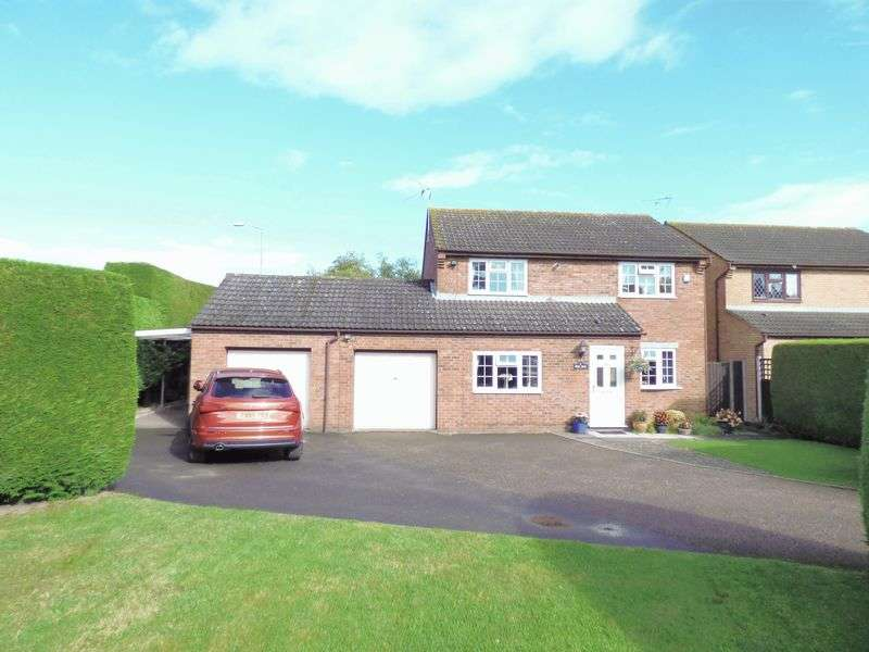 4 Bedrooms Detached House for sale in Fox Run, Gloucester