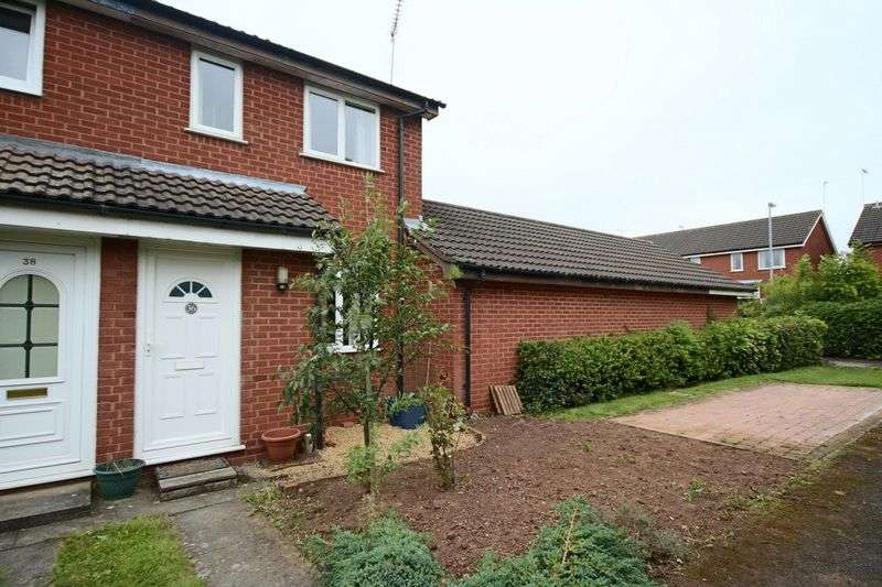 2 Bedrooms Terraced House for sale in The Cloisters, Gnosall, Stafford