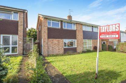 3 Bedrooms Semi Detached House for sale in Grebe Close, Abbeydale, Gloucester, Gloucestershire