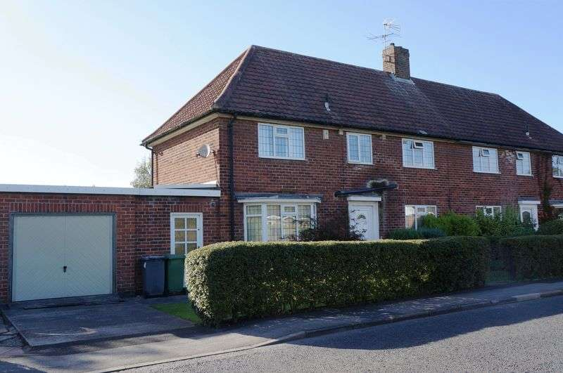 3 Bedrooms Semi Detached House for sale in Woodlands Grove, York