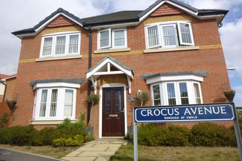 4 Bedrooms Detached House for sale in Crocus Avenue, Minster On Sea, Sheerness, ME12