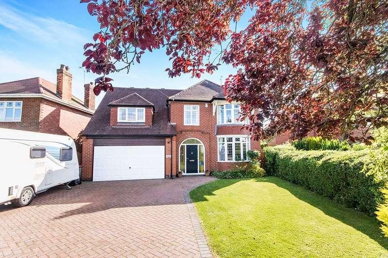 5 Bedrooms Detached House for sale in Main Road, Jacksdale, Nottingham, NG16