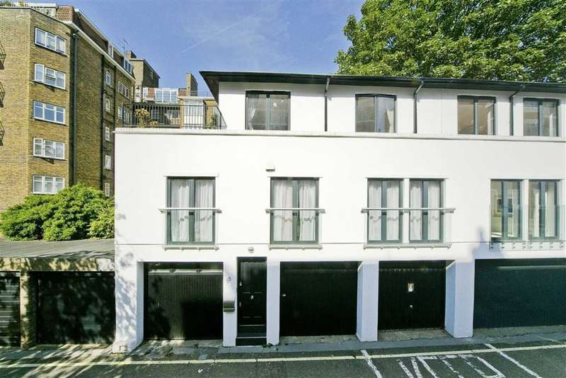3 Bedrooms House for sale in St James Terrace Mews, London, London, NW8