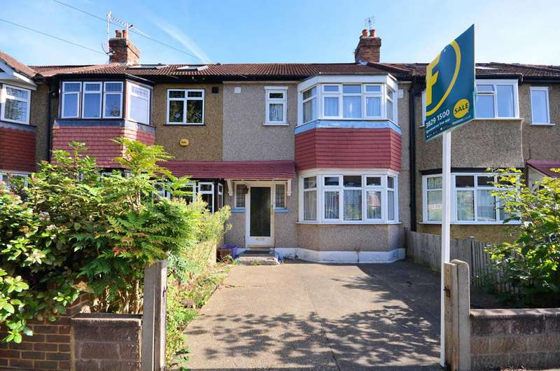 3 Bedrooms Terraced House for sale in Arthur Road, Motspur Park, KT3