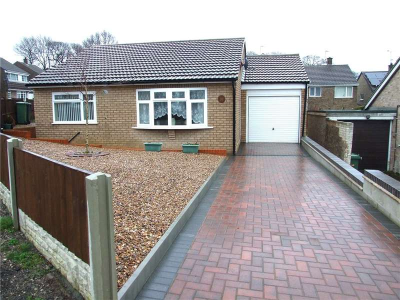 2 Bedrooms Detached Bungalow for sale in Oakland Crescent, Riddings, Alfreton, Derbyshire, DE55