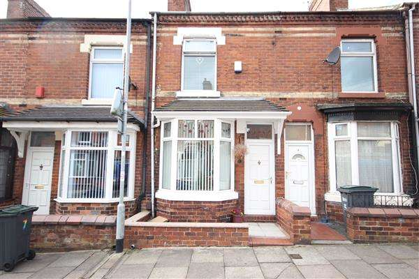 2 Bedrooms Terraced House for sale in Campbell Terrace, Birches Head, Stoke-on-Trent