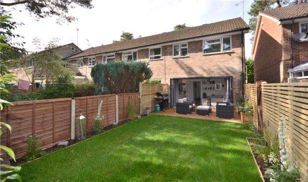 3 Bedrooms End Of Terrace House for sale in Kielder Walk, Camberley, Surrey