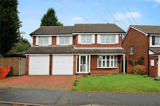 4 Bedrooms Detached House for sale in Marshwood Croft, HALESOWEN, West Midlands