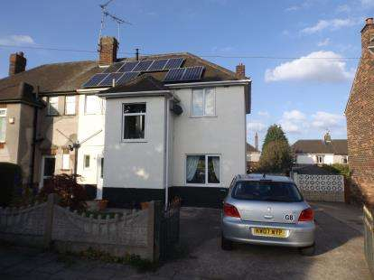 3 Bedrooms Semi Detached House for sale in The Green, Mansfield Woodhouse, Mansfield, Nottinghamshire