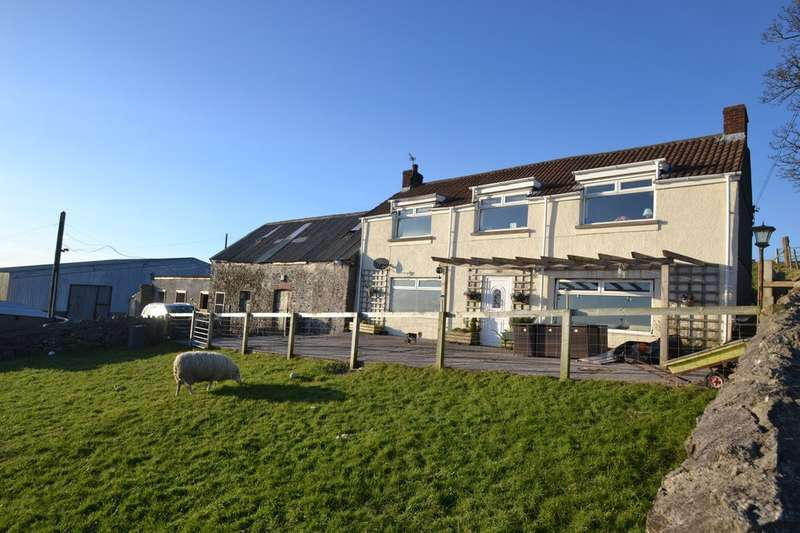 3 Bedrooms House for sale in Typica Farm, Heol Laethog, Bryncethin, Bridgend, CF32 9JE