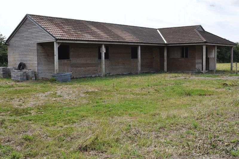 Detached House for sale in 0.81 acres land & 3 timber frame agricultural buildings at Elmsley Lane, Weston-super-Mare, North Somerset