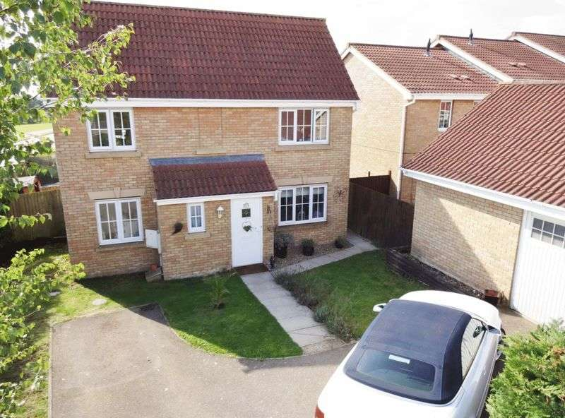 4 Bedrooms Detached House for sale in Leeds Close, Oakley Vale, Corby
